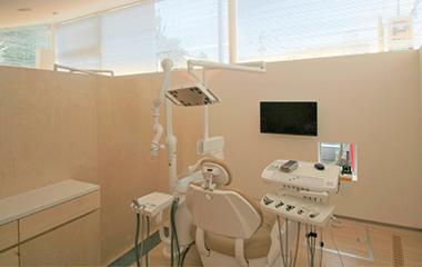 予防専用の治療室
